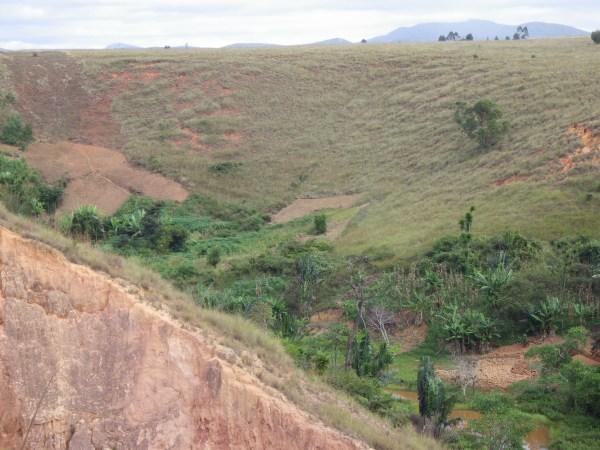 マダガスカルの地滑り